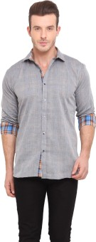 Ennoble Men's Solid Casual Shirt