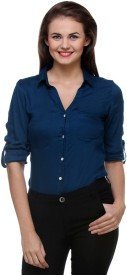 Purys Women's Solid Formal Shirt
