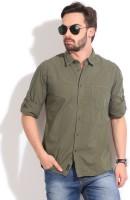 Indian Terrain Men's Solid Casual Shirt