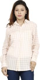 Miway Women's Checkered Casual Shirt