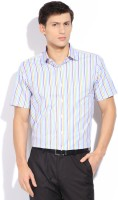 Peter England Men's Striped Formal Shirt - SHTDXPJYGCCDBDQN