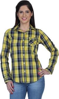 Fast N Fashion Can Women's Checkered Casual Shirt
