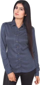 Mallika Stylish Make Women's Polka Print Casual Shirt