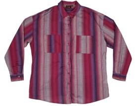 ORANGE PLUM SH-12 Women's Striped Casual Shirt
