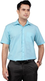 Zeal Cotton Blend Men's Solid Shirt - SHTE7GYFX3TFNGCM