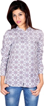 Silly People Abstract Women's Printed Casual Shirt - SHTE6EHURMYJRGFJ