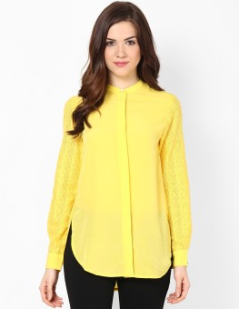 Femella Ds-216169 Women's Solid Casual Shirt