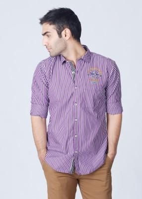 Probase Probase Men's Striped Casual Shirt (Multicolor)