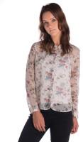 Miss Rich Women's Floral Print Casual Shirt - SHTEYPEAZTPVEY63