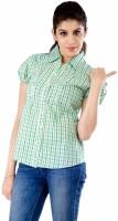 Peppermint Women's Striped Casual Shirt