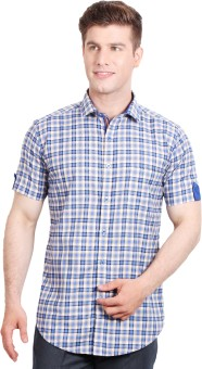 Solemio Men's Checkered Formal, Casual Shirt - SHTE7ZGHA3F3PZBX