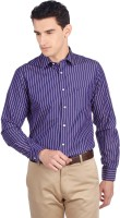 Indian Terrain Men's Striped Shirt