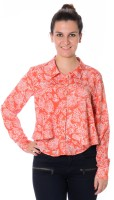 Urban Religion Women's Printed Casual Shirt - SHTDWPYXXSMYHN5R