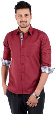 6449629b839 S9 Men Elegant 15 Men s Solid Casual Shirt for Rs. 569 at Flipkart
