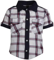 Gkidz Boy's Checkered Party Shirt