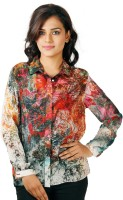 Toscee Women's Printed Casual, Party, Formal Shirt - SHTEFH53MJCGADUR