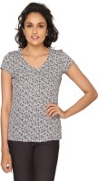 Azores Women's Floral Print Casual Shirt