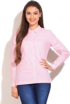 Vero Moda Women's Striped Casual Shirt