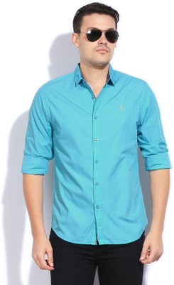 Bossini Bossini Men's Solid Casual Shirt (Multicolor)