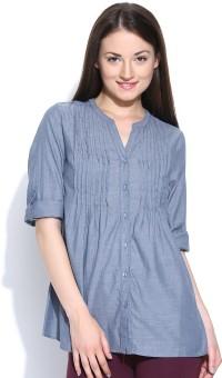 Sbuys Women's Striped Casual Shirt