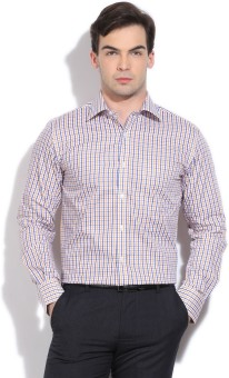 Peter England Men's Checkered Formal Shirt - SHTE2M4BYREWZZQF