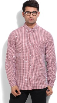 Adidas Originals Men's Checkered Casual Shirt