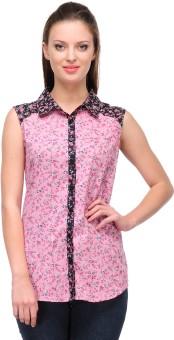 Shakumbhari Stylish And Elegant Women's Floral Print Casual Shirt