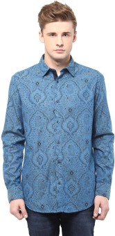 F Factor By Pantaloons Men's Printed Formal Shirt