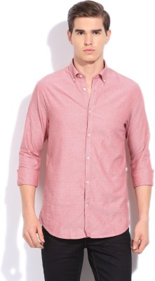 Blackberrys Blackberrys Men's Printed Casual Shirt (Red)