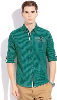 Status Quo Men's Checkered Casual Shirt