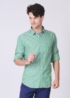 Indian Terrain Men's Striped Casual Shirt