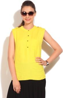 Vero Moda Women's Solid Casual Shirt