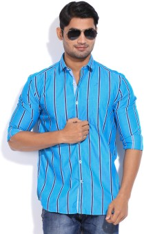 CODE CASUALS Men's Striped Casual Shirt - SHTEYEFXTHTDGUZA