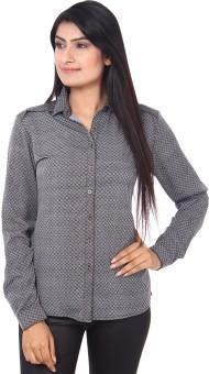 Mallika Stylish Grace Women's Printed Casual Shirt