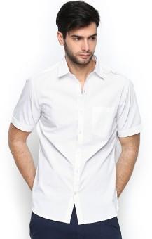 John Players Men's Solid Casual Shirt
