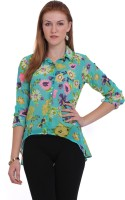 Paprika Women's Floral Print Casual Shirt
