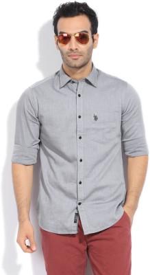 U.S.Polo Assn. Men Solid Casual Shirt