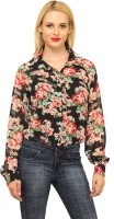 Meee Women's Floral Print Casual Shirt