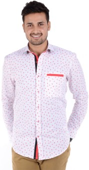 Bendiesel Men's Floral Print Casual Shirt