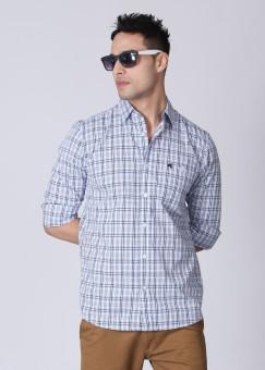 Wrangler Men's Checkered Casual Shirt: Shirt