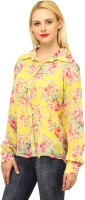 Meee Women's Floral Print Casual Shirt - SHTEYFB95NG9Z8ZJ