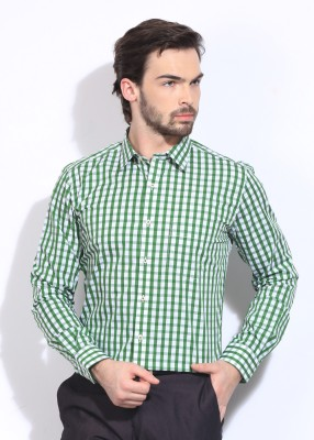 Genesis Genesis Men's Checkered Formal Shirt (Multicolor)