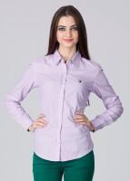 American Swan Women's Solid Casual Shirt