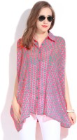Remanika Women's Polka Print Casual Shirt