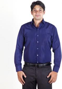 Hawk Office Wear Men's Solid Formal Reversible Shirt