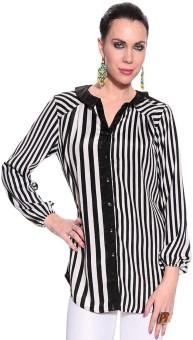Remanika Uea-Daria Women's Striped Casual Shirt