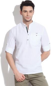 Locomotive Men's Solid Casual Shirt