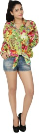 Chic Fashion Women's Floral Print Casual Shirt