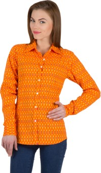 Famous By Payal Kapoor Women's Printed Casual Shirt - SHTE7FR4UW8QTSAW
