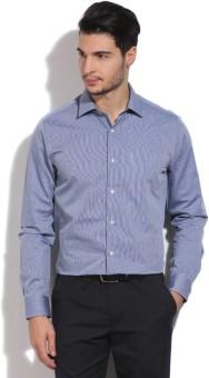 Blackberrys Men's Striped Formal Shirt